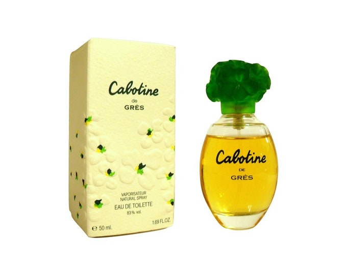 Vintage 1990s Cabotine by Gres 1.69 oz Eau de Parfum Spray and Box PERFUME