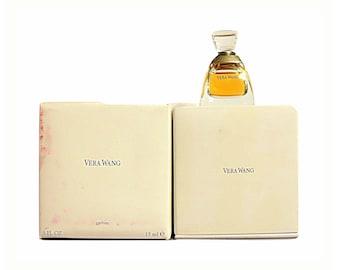 Vintage Vera Wang by Vera Wang 0.5 oz Pure Parfum Splash Extrait Crystal Perfume Flacon in Presentation Box