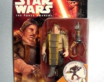 "Star Wars Unkar Plutt 3.75"" Action Figure on Card Force Awakens"