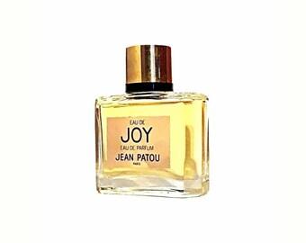 Vintage 1980s Eau de Joy by Jean Patou 1 oz (30ml) Eau de Parfum Splash Discontinued Perfume