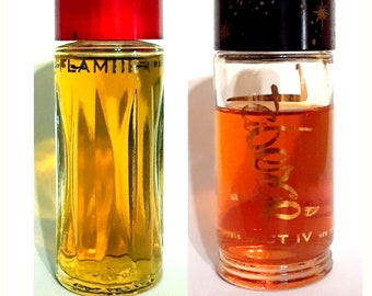 Vintage 1950s Act IV or Flambeau by Faberge 1 oz Cologne Extraordinaire Splash Act Four YOUR CHOICE
