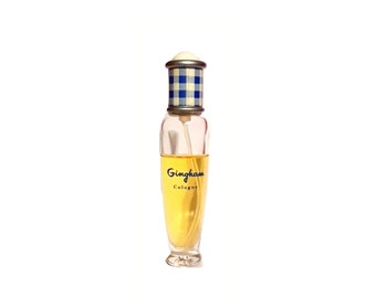 Vintage  1990s Gingham 0.5 oz Cologne by Bath and Body Works DISCONTINUED PERFUME