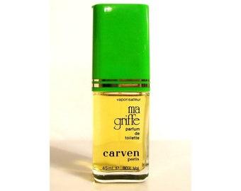 Vintage Perfume 1970s Ma Griffe by Carven 1.5 oz Parfum de Toilette Spray