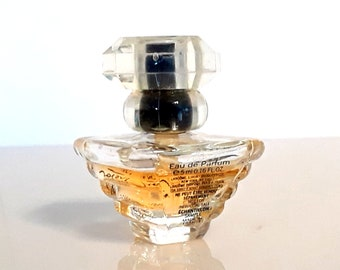 Vintage 1990s Tresor by Lancome 0.16 oz Eau de Parfum Spray Miniature Perfume Mini Bottle