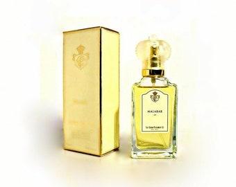 Vintage 1990 Malabar by Crown Perfumery 1.7 oz Eau de Parfum Spray in Box DISCONTINUED PERFUME