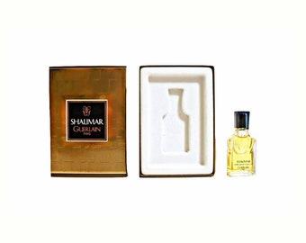 Vintage 1990s Shalimar 0.25 oz Parfum de Toilette Miniature Mini PERFUME