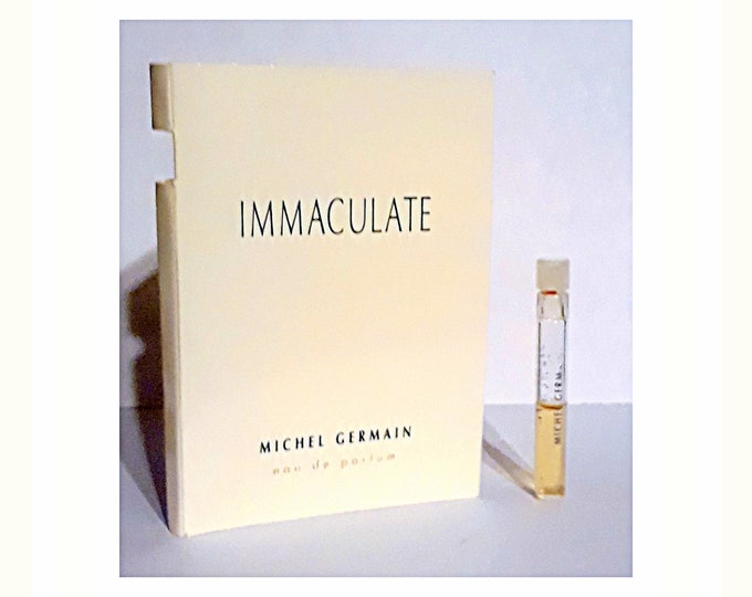 Immaculate Perfume by Michel Germain Eau de Parfum Sample Vial on Card
