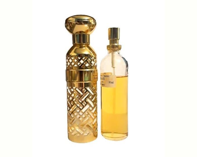Vintage Shalimar Perfume 3.1 oz Eau de Toilette Spray Habit de Fete Refillable Canister 1980s