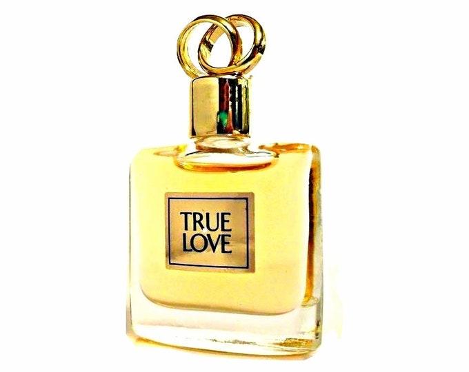 Vintage 1990s True Love by Elizabeth Arden 0.12 oz Eau de Toilette Mini Miniature PERFUME