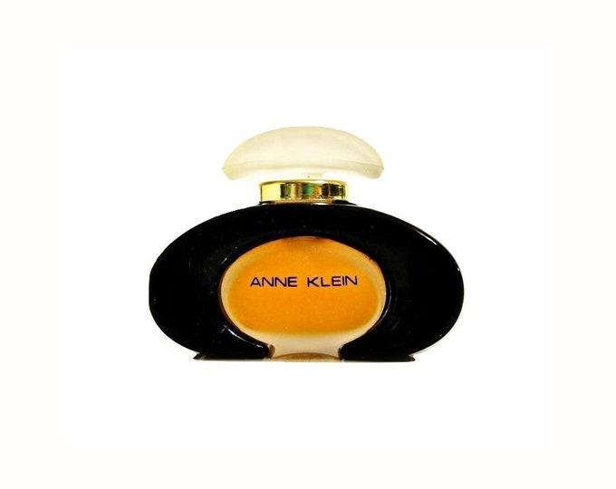 Vintage 1980s Anne Klein by Anne Klein 0.25 oz (7.5ml) Pure Parfum Splash PERFUME