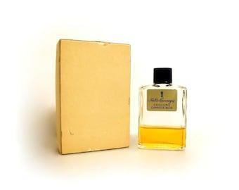 Vintage 1950s Blue by Hattie Carnegie 2 oz Cologne  Bottle & Presentation Box CLEARANCE PERFUME