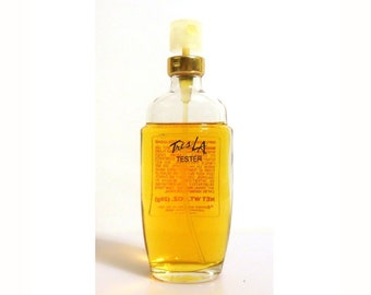 Vintage 1980s Tres L.A. by Prince Matchabelli 1 oz Impulse Spray Cologne DISCONTINUED PERFUME
