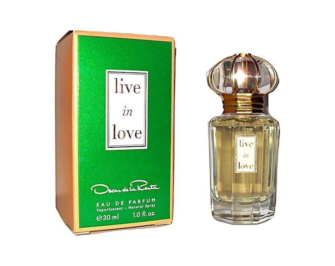 Live in Love Perfume by Oscar de la Renta 1 oz Eau de Parfum Spray