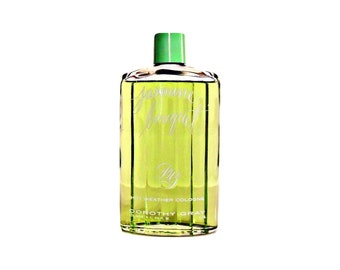 Vintage 1950s Jasmine Bouquet by Dorothy Gray  6.5 oz  Hot Weather Cologne Splash DISCONTINUED PERFUME