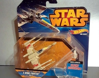 Star Wars X Wing Fighter HOT WHEELS Ship