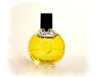 Vintage 1980s Paradoxe by Pierre Cardin 4 ml Parfum Miniature Mini PERFUME