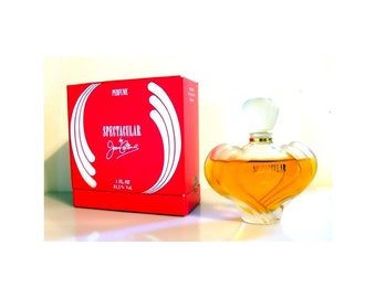 Vintage 1980s Perfume Spectacular by Joan Collins 1 oz Pure Parfum and Box Discontinued PERFUME