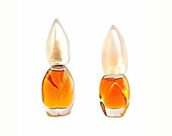 Vintage 1990s Vintage Fire & Ice by Revlon 0.5 oz Eau de Parfum and 0.3 oz Eau de Parfum Perfume