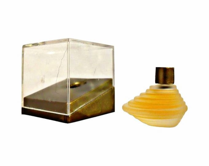 Vintage 1990s Montana Parfum d'Elle 0.08 oz Eau de Parfum Mini Miniature and Box PERFUME
