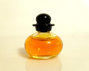 Vintage Mini Perfume 1990s Basic Black by Bill Blass 1/8 oz Pure Parfum Splash Miniature