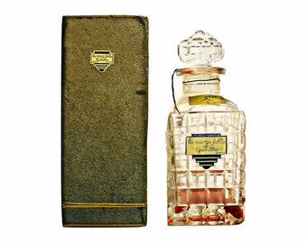Vintage 1930s La Vierge Folle by Gabilla Art Deco Decanter Perfume Bottle & Presentation Box
