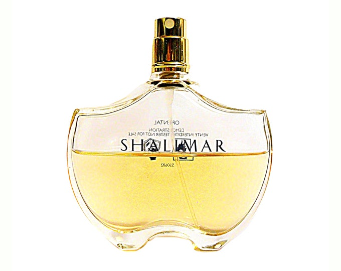 Shalimar Perfume 1.7 oz  Eau de Toilette Spray Older Style Bottle 2009