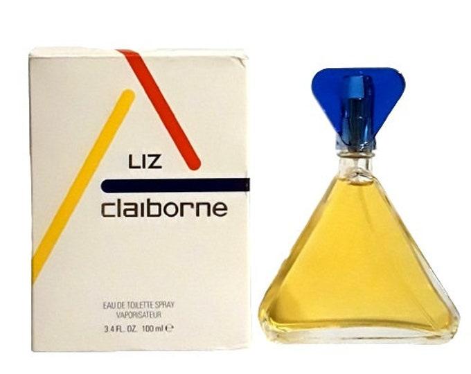 Vintage Liz Claiborne by Liz Claiborne 3.4 oz Eau de Toilette Spray PERFUME