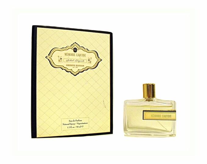 Soleil Liquide Perfume by Memoire Liquide 1.7 oz Eau de Parfum Spray in Box