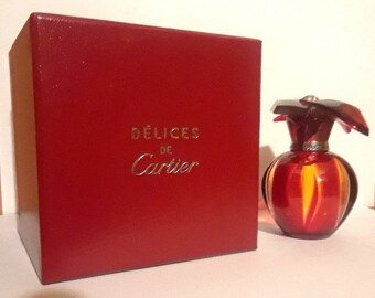 Delices by Cartier 1 oz Pure Parfum Spray and Box Cartier Perfume