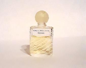 Vintage 1990s Eau de Rochas by Rochas 0.13 oz Eau de Toilette Mini Miniature PERFUME