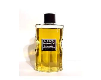 Vintage 1940s Men's Eau de Cologne by Lentheric 5 oz  Splash Discontinued Perfume