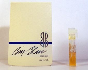 Vintage 1980s Bill Blass by Bill Blass 0.02 oz Pure Parfum Sample Vial on Card PERFUME