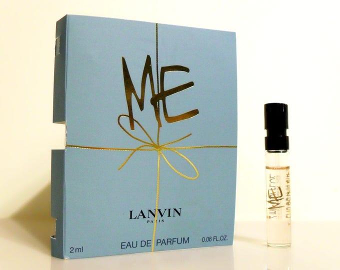 Me! by Lanvin 0.06 oz Eau de Parfum Spray Sample Vial on Card PERFUME