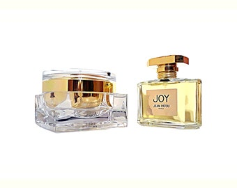 Joy by Jean Patou 2.5 oz Eau de Parfum Spray and 3.4 oz Luxury Body Cream Perfumed Body Creme Perfume Set