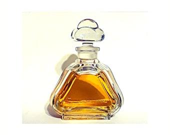 Vintage 1920s Jean Patou Parfum Heavy Crystal Large Factice Dummy Perfume Bottle