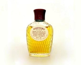 Vintage 1960s Herbessence by Helena Rubinstein 0.50 oz Body Perfume Splash Mini Miniature