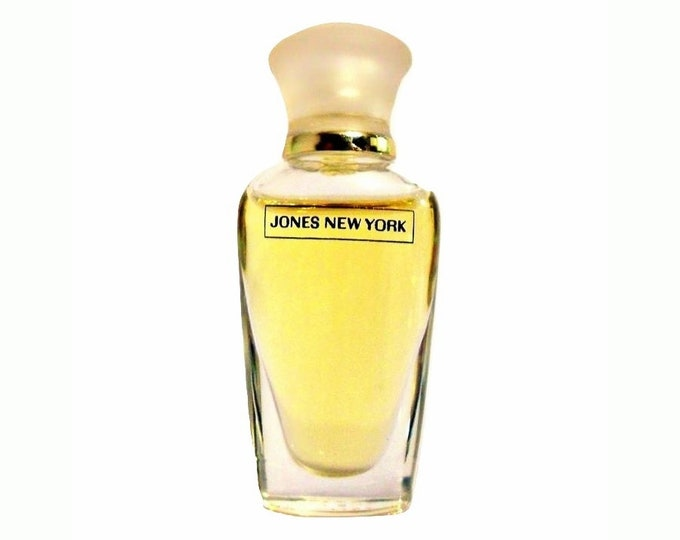 Vintage 1990s Jones New York by Paul Sebastian 1/8 oz Eau de Toilette Miniature Mini PERFUME