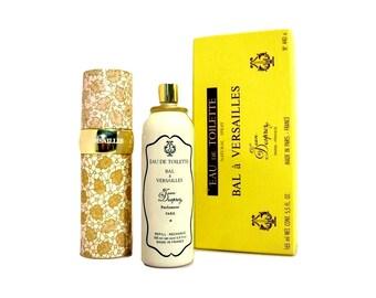 Vintage 1970s Bal a Versailles by Jean Desprez 5.5 oz Eau de Toilette Refillable Natural Spray in Box  PERFUME