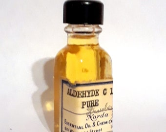 Vintage 1930s 5ml  Aldehyde C16 Pure Strawberry George Fries PERFUME BASE Fruity Sweet Fragrance Creation Essential Oil Perfumery Making