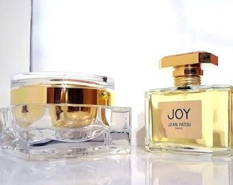Joy by Jean Patou 2.5 oz Eau de Parfum Spray and 3.4 oz Luxury Body Cream Perfumed Body Creme Perfume Set