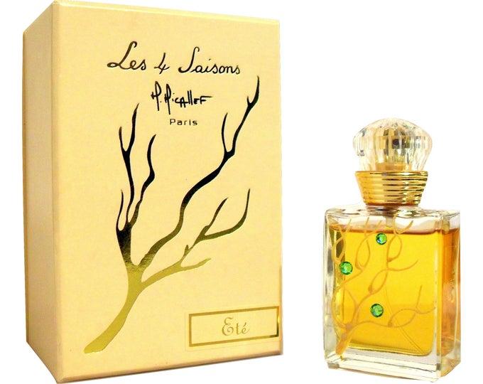 Vintage 2003 Les 4 Saisons Ete Perfume by M. Micallef 1 oz Eau de Parfum Spray in Box (original bottle)