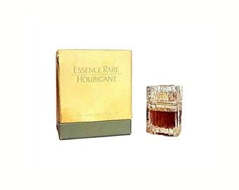 Vintage 1970s Essence Rare by Houbigant 0.25 oz (7.5ml) Pure Parfum Splash and Box DISCONTINUED PERFUME
