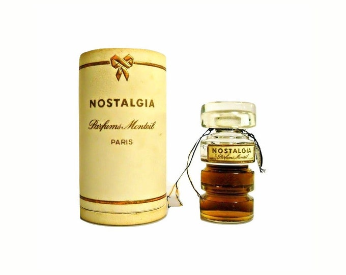Vintage Nostalgia by Germaine Monteil Perfume 0.5 oz (15ml) Pure Parfum 1940s Extrait
