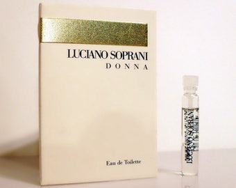 Luciano Soprani Donna 0.06 oz Eau de Toilette Sample on Card PERFUME