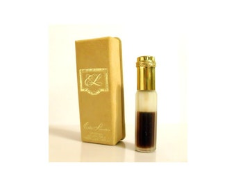 Vintage 1970s Youth Dew by Estee Lauder 3/8 oz (11ml) Pure Parfum Mini Purse Spray and Box PERFUME