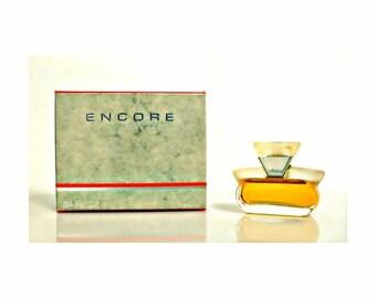 Vintage 1990s Encore by Alfred Sung 0.14 oz Eau de Parfum Splash Mini Miniature with Box PERFUME