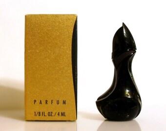 Vintage 1990s Donna Karan New York by Donna Karan 1/8 oz  Parfum Miniature Mini PERFUME