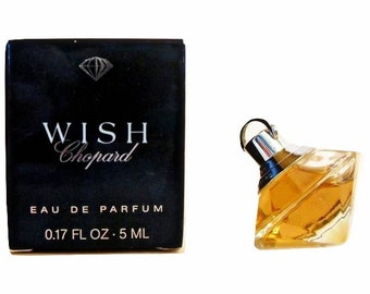 Vintage Wish by Chopard 0.17 oz Eau de Parfum Mini Miniature Perfume and Box