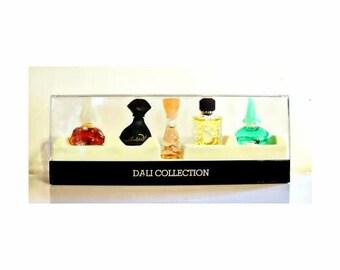 Vintage 1990s Salvador Dali Miniature Perfume Mini Cologne YOUR CHOICE
