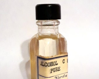 Vintage 1930s 5ml Alcohol C8 Pure PERFUME BASE Fatty Waxy Aldehyde Fragrance Creation Essential Oil Perfumery Making